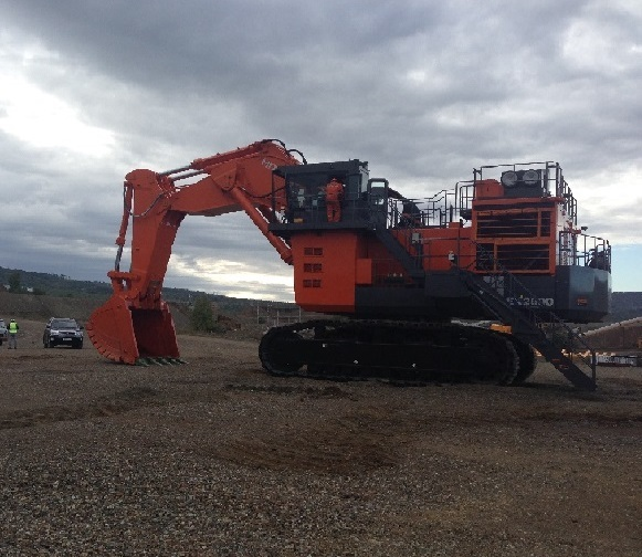 The Successfully Assembly of Hitachi EX2600-6BH Hydraulic Excavator